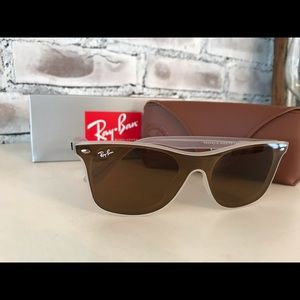 Ray-Ban NWT Authentic Translucent\Brown Gradient